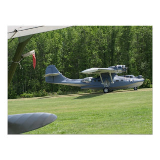 """1943 Consolidated PBY-5A """"Catalina"""". Poster"""
