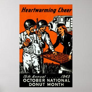 1943 Donut Poster
