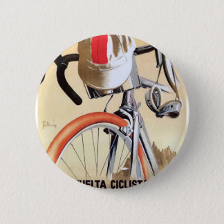 1943 Spain Tour of Catalonia Bicycle Race Poster Button