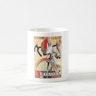 1943 Spain Tour of Catalonia Bicycle Race Poster Coffee Mug