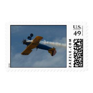 1943 Stock Stearman PT-17. Stamp