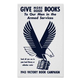 1943 Victory Book Campaign -- WWII Poster