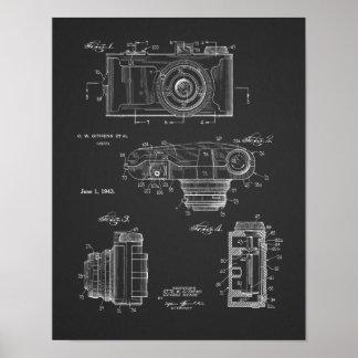 1943 Vintage Camera Patent Art Drawing Print