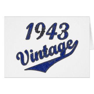 1943 Vintage Card