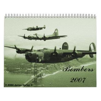 1944, bombarderos 2007, 2006 JR de James Harley Calendario