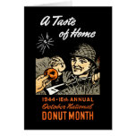 1944 Donut Poster Cards