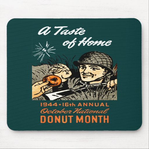 1944 Donut Poster Mouse Pad