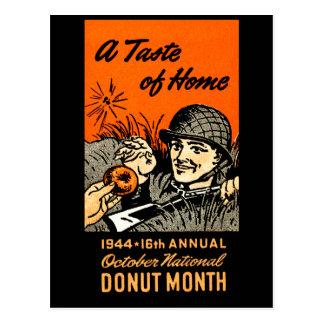 1944 Donut Poster Postcards