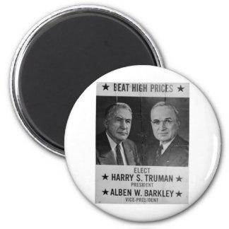 1944 Hoover - Barkley 2 Inch Round Magnet