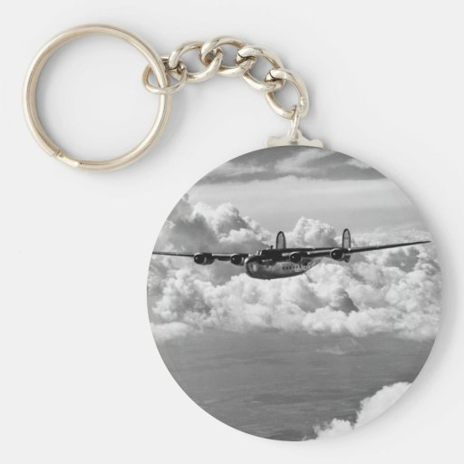 1944 Liberator Express in Flight Keychains
