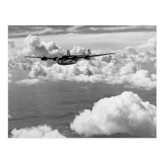 1944 Liberator Express in Flight Postcard