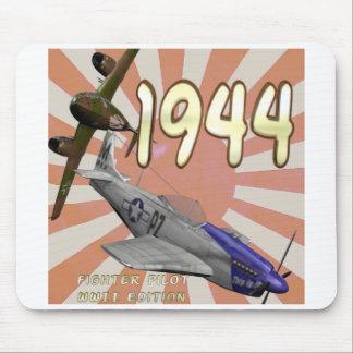 1944: Piloto de caza Tapetes De Ratón