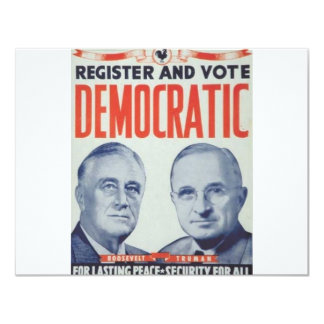 1944 Roosevelt - Truman Card