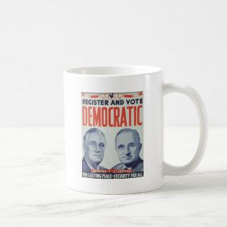 1944 Roosevelt - Truman Coffee Mug