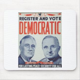 1944 Roosevelt - Truman Mousepad
