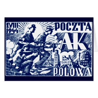 1944 Warsaw Uprising Cards