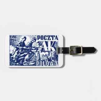 1944 Warsaw Uprising Bag Tags