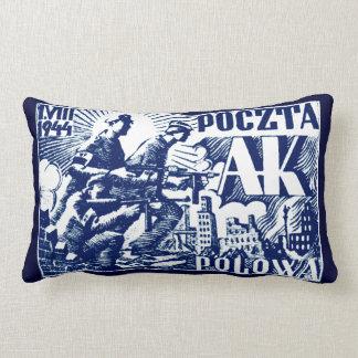 1944 Warsaw Uprising Lumbar Pillow