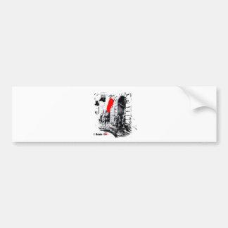 1944 Warsaw Uprising Poland Bumper Sticker