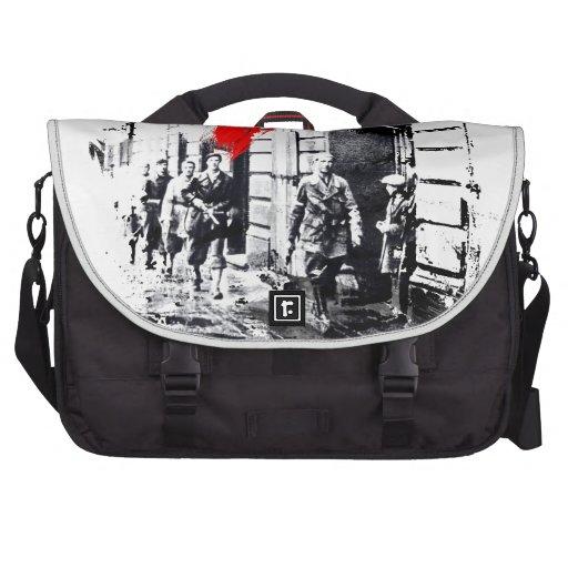 1944 Warsaw Uprising Poland Laptop Commuter Bag