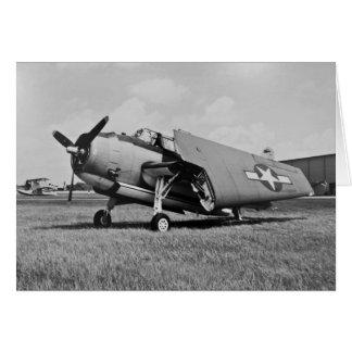 1945 Avenger Torpedo Bomber Card