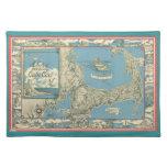 1945 Cape Cod Map Placemats