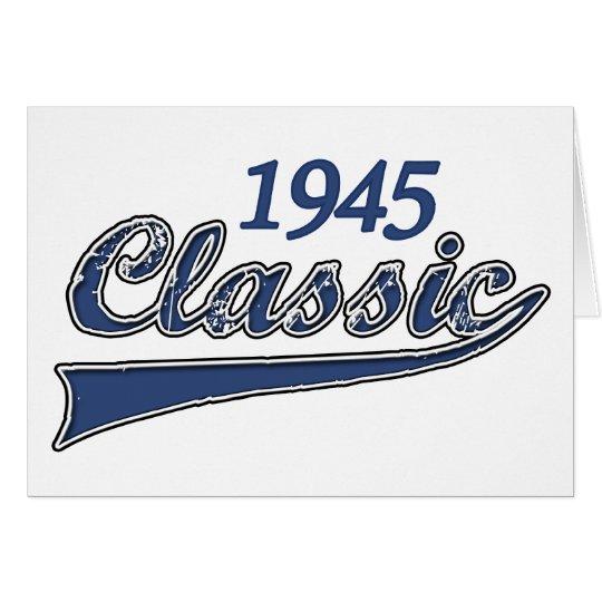 1945 Classic Card
