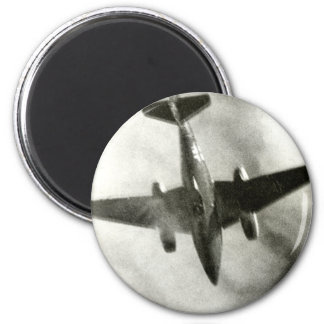 1945 Final Flight of ME-262 2 Inch Round Magnet