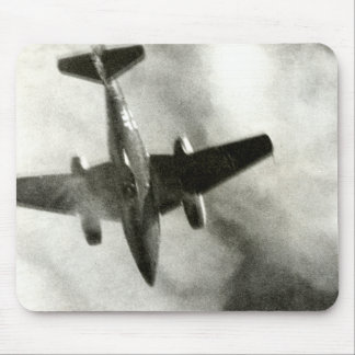 1945 Final Flight of ME-262 Mouse Pad