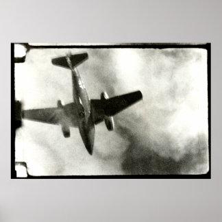 1945 Final Flight of ME-262 Poster
