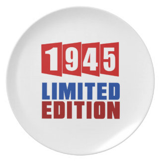 1945 Limited Edition Plates