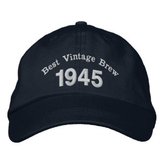 1945 or Any Year 70th Birthday Best Vintage Brew Cap