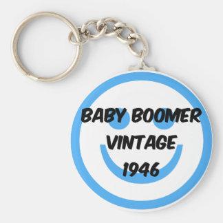1946 baby boomer keychain