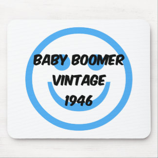 1946 baby boomer mouse pad