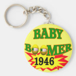 1946 Baby Boomer T-shirts Gifts Keychain