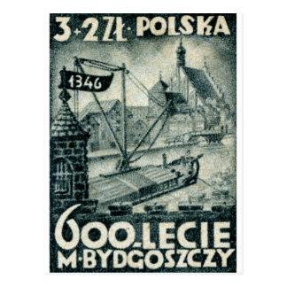 1946 Bydgoszcz Poland Post Card