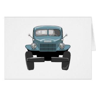 1946 Dodge Powerwagon Card