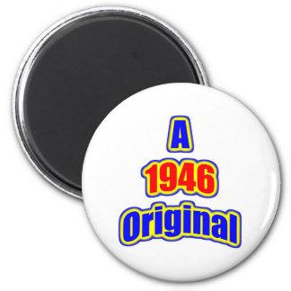 1946 Original Bl Red Magnets