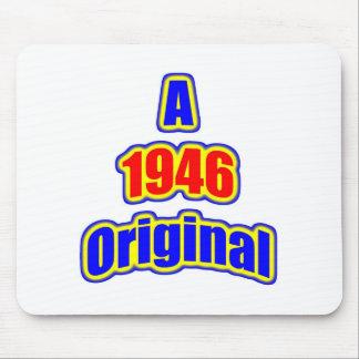 1946 Original Bl Red Mouse Pad