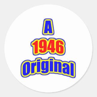 1946 Original Bl Red Stickers
