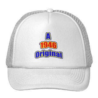 1946 Original Bl Red Trucker Hat