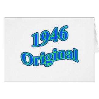 1946 Original Blue Green Card