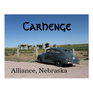 1946 Plymouth at Carhenge Postcards