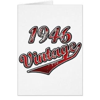 1946 Vintage Card
