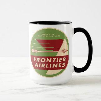 1946 Vintage Frontier Airlines Logo Mug