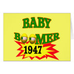 1947 Baby Boomer Greeting Cards