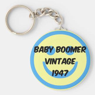 1947 baby boomer keychain