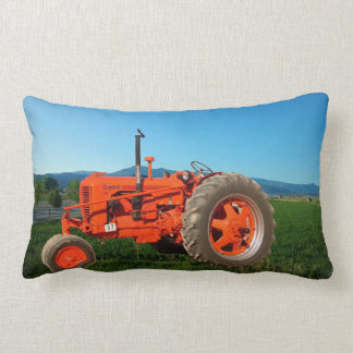 1947 Case S Vintage Tractor Lumbar Pillow