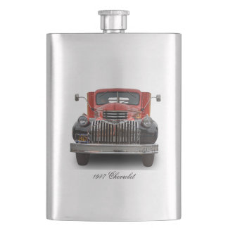 1947 CHEVROLET STAKE TRUCK HIP FLASK