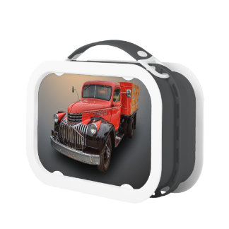 1947 CHEVROLET STAKE TRUCK LUNCH BOX
